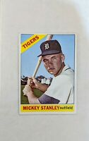 1966 Topps Mickey Stanley #198 Baseball Card Detroit Tigers HOF