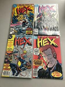 Lot of 7 Hex (1985-1987 DC) #12-18 VF Very Fine