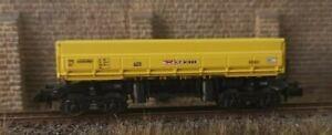 Minitrix Schüttgutwagen Wiebe Seitenkippwagen Spur N Wagen Nummer 403