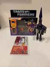 Transformers Targetmaster CYCLONUS w/ Box  G1 1986