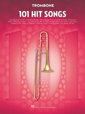 101 Hit Songs for Trombone Instrumental Folio Book NEW 000197187