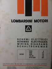 Lombardini Engine Electrical Wiring Diagram  Circuit Schematics Service Manual
