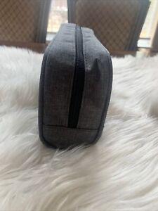 Portable Travel Case Protective Bag for Dental Water Flosser Dustproof Grey Zip
