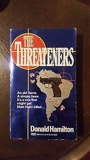 "Donald Hamilton, ""Threateners,"" 1992, Fawcett Gold Medal 14681-2, VG, 1st"