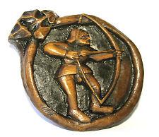 Archer robin des bois sculpture reproduction médiévale unique long bow flèche tir à l'arc