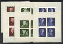 HUNGARY @ 1942 RED CROSS SHEETS PERF.& IMPERF MNH € 200.00 @ V7207