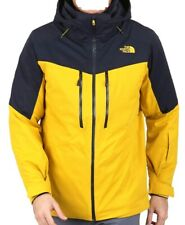THE NORTH FACE Men's CHAKAL Snow Jacket - LeoprdYw/UrbNvy - Medium - NWT