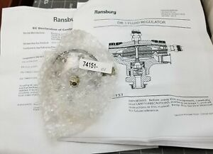 74151-01 Ransburg DR-1 Fluid Regulator  NEW [B1BB]