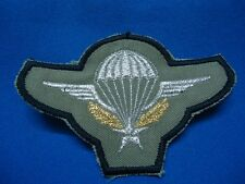 FRANCE FRENCH FOREIGN LEGION MILITARY PARACHUTE PARATROOPS GREEN PATCH 88mm