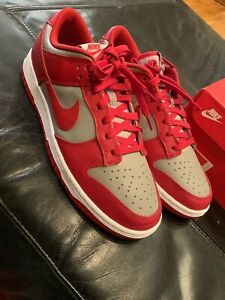 Nike Dunk Low Retro 2021 UNLV BTTYS Red Grey Gray SB Jordan Size 10.5 SP