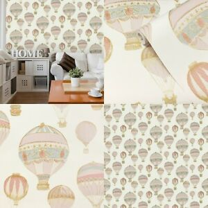 Vintage Style, Hot Air Balloons Wallpaper