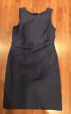 Banana Republic Sz 14 Purple Sleeveless Dress NWT Casual Business Lined