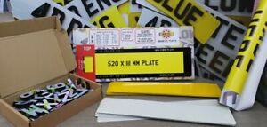 3D / 4D Number Plate Business Small Start up Kit