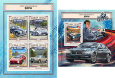 BMW Cars Motorcycles Transport Sierra Leone MNH stamp set