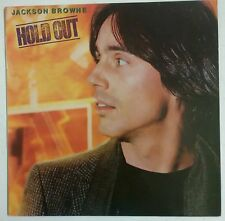 Jackson Browne Hold Out LP España 1980 Encarte en el interior