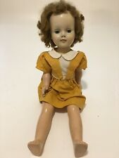 "Vintage 24"" Compo Doll With Bisque Face with Sandy Hair & Open/Close Eyes"