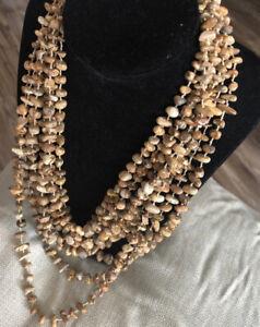 Cappuccino Jasper Bib Style Necklace set in Sterlin