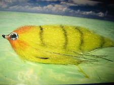 V Fly Taglia 4/0 Ultimate CAMPER GIALLO Esca Pesce Predatore SUPER SPECIALE FLY