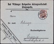 == DR Germania Mi. 69 PF I auf Geschäftsbrief, Kat. 190€ ==