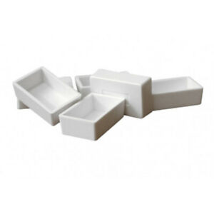 Plastic Empty Whole Sized Pans for Watercolour (Pack of 50)