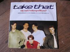 """VG+    TAKE THAT - Why can't I wake up with you Limited edition  - 7"""" EP single"""