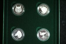 2000 CANADA BIRDS OF PREY PROOF 4-COIN 50-CENT.