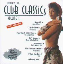 Club Classics 1 (1991, EMI) Commodores ('Nightshift [7'02'']'), Diana R.. [2 CD]