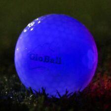 24 Blue L.E.D NIGHT GOLF BALLS - V2 Powerlight - GloBall