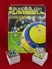 Panini Bundesliga 2007/2008 Satz komplett + Album = alle Sticker 07/08 Leeralbum