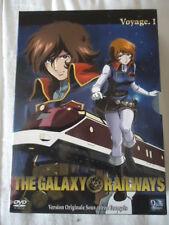 LOT The galaxy railways  Voyage 1 Coffret 3 DVD – Episodes 1 à 13 no ALBATOR