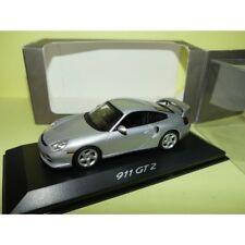 PORSCHE 911 GT3 996 1998 Gris Grey Lapisblau MINICHAMPS 1:43