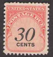 US. J98. 30c, Postage  Due Stamp. Dull Gum. Mint. NH. 1959
