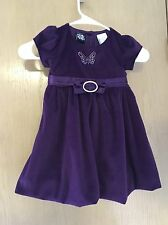 Gorgeous  Dress Purple 24m NEW