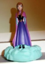 Disney Frozen Anna Figure Tabletop Push Light Toy New Cake Topper 6 inch gift
