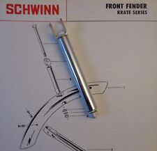 SCHWINN BICYCLE KRATE STINGRAY FRONT FENDER HANGER KIT 1969-73 Sting-ray Bikes
