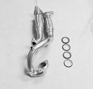 Fits 2003 2004 2005 Mazda 6 3.0L V6 Flex Y-Pipe ( FREE GASKETS INCLUDED )