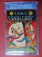 COMIC CAVALCADE #7 Wonder Woman Green Lantern The Flash CBCS 4.0 1944 DC COMIC