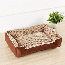 Detachable Self Warming Pet Bed Cushion Pad Dog Cat Cage Kennel Crate  Cozy Mat