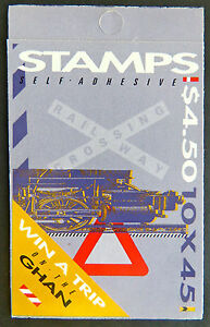Australian Stamps: 1993 Trains Booklet MNH