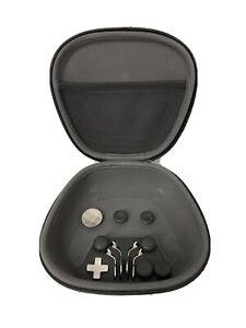 Microsoft Xbox One Elite 1 Controller Travel Case Pouch + Parts Accessories