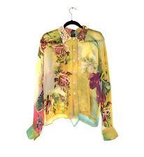 Jean-Paul GAULTIER HOMME (Shirt & Tie) - Floral Silk  Sz 43 Vintage NWT