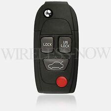 Car Flip Key Fob Keyless Remote For 1999 2000 2001 2002 2003 2004 2005 Volvo S80
