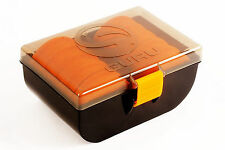 Korda Fishing Guru Rig Box - With 10 EVA Spools, Holds 200 Rigs, Impact Proof