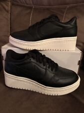 fc7166fe73f471 Women s Air Jordan 1 Re Low Lifted Black Shoes -Size 9 -AO1334 014