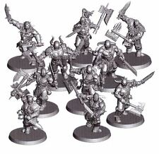 AS12 Warhammer Age Of Sigmar Chaos - 10 x Blood Reavers Marauders Standard