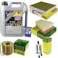 Inspection Kit Filter Liqui Moly Oil Oil 5L 5W-40 for VW Polo 9N_1.2 Skoda Fabia