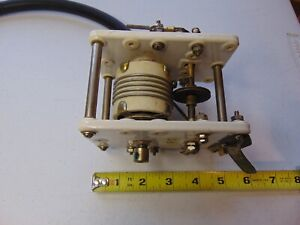 Military Radio Transmitter Roller Inductor