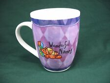 Au Pair Gift 'You Can't Scare Me I'm a NANNY' Kids Babysitter COFFEE MUG Cup EUC