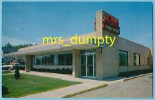 MI Lansing ~ Michigan ~ LIGHT'S HOUSE Restaurant ~ Larch St. ~ 1950s Mid-Century