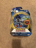 "SEGA Sonic the Hedgehog METAL SONIC Articulated 4"" Action Figure Jakks Pacific"